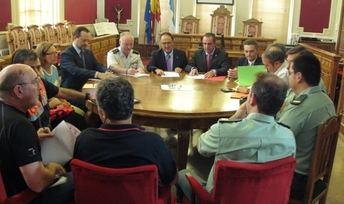 Reunión de la Junta Local de Seguridad de Hellín ante el próximo inicio de la Feria