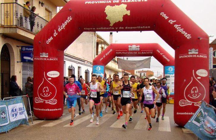 Casi 700 atletas inscritos para la carrera popular de El Bonillo este domingo