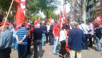 """La manifestación del 1 de mayo de Albacete pide un cambio """"radical"""" en las políticas del PP"""