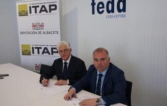 El ITAP y la Asociación Provincial de Empresas Agroalimentarias, integrada en FEDA, firman un convenio para la promoción de actividades en el sector