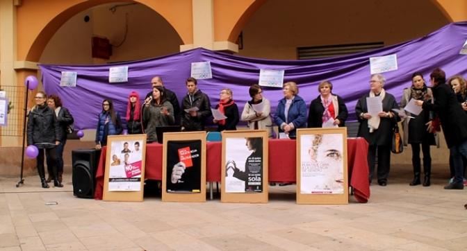 Casas Ibáñez tuvo su acto con motivo del Día Internacional contra la violencia hacia la mujer