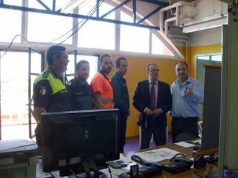 Federico Pozuelo visita el Centro de Coordinación del Viña Rock