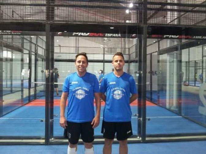 Martín Maciá y José Carlos Sanz ganan el Torneo de Comunidades Padbol España