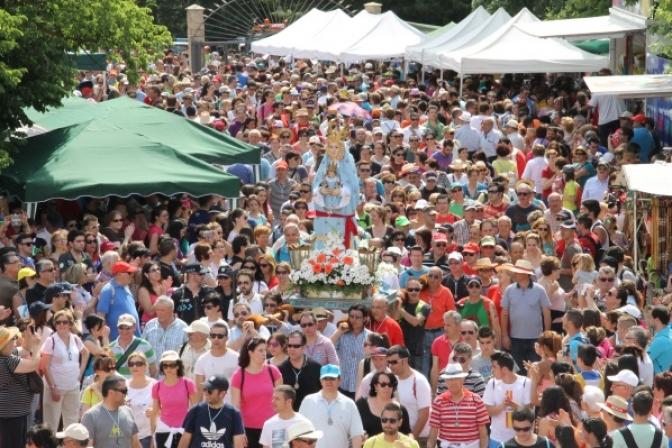 Miles de almanseños participaron en la Romería en Honor a la Virgen de Belén
