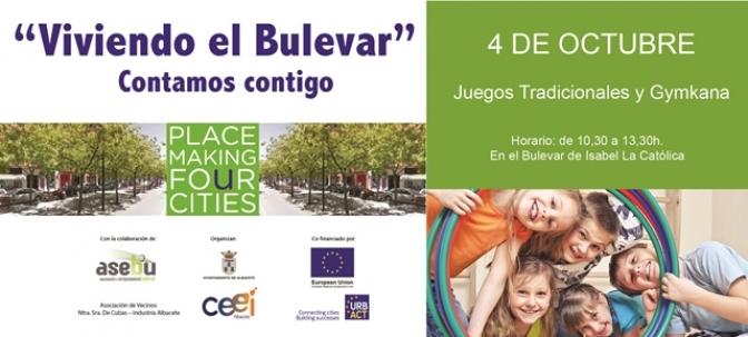 Comienza el proyecto Placemaking For Cities, del Bulevar Isabel la Católica