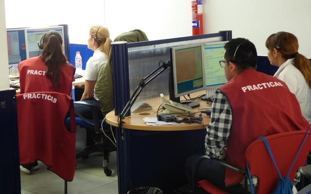 118 alumnos de FP del ciclo de emergencias sanitarias han realizado prácticas en el servicio 112 de Castilla-La Mancha