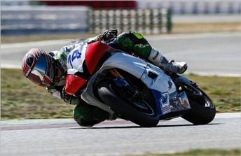 Joaky Castañeda participará en la última prueba del Campeonato Americano de Motociclismo con el Red Force Racing
