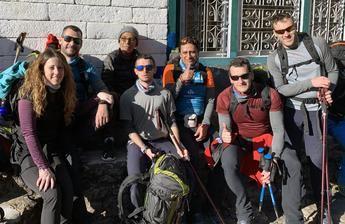 Últimos días de la expedición Álex Txikon-AMIAB en la puerta del Himalaya