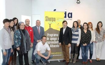 Diputación de Albacete y FEDA presentan a los 12 finalistas de la II edición del Programa Sherpa para nuevos empresarios