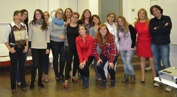 Un veintena de empresarias  de AMEPAP culminan con éxito el título de experto en coaching para mujeres