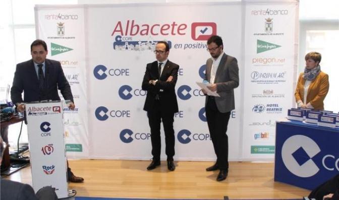 La Cadena Cope entregó los reconocimientos de la campaña 'Albacete en positivo'