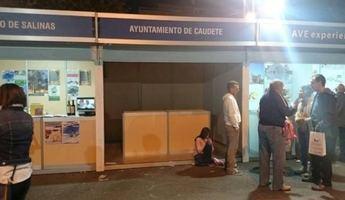 El PSOE de Caudete critica la 'desidia' del alcalde por dejar vacío el stand del municipio en 'Muestra Villena'