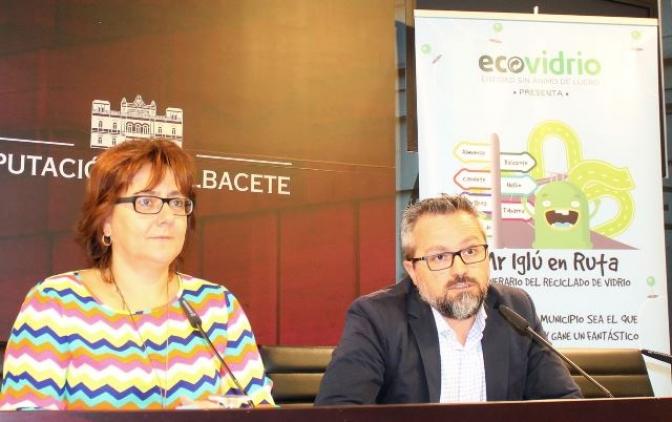 Siete municipios de Albacete acogerá la campaña medioambiental de reciclaje de vidrio