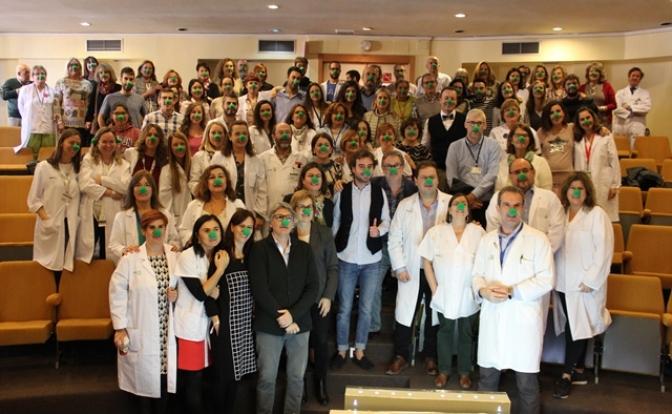 Profesionales del Hospital de Albacete son galardonados en los III Premios Hospital Optimista
