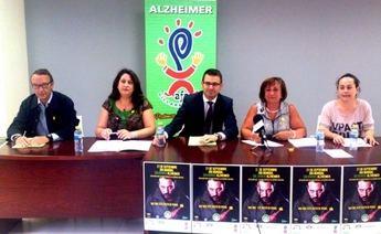 AFA Villarrobledo conmemora el Día Mundial del Alzhéimer y firma un convenio para proyecto sobre promoción de la autonomía personal