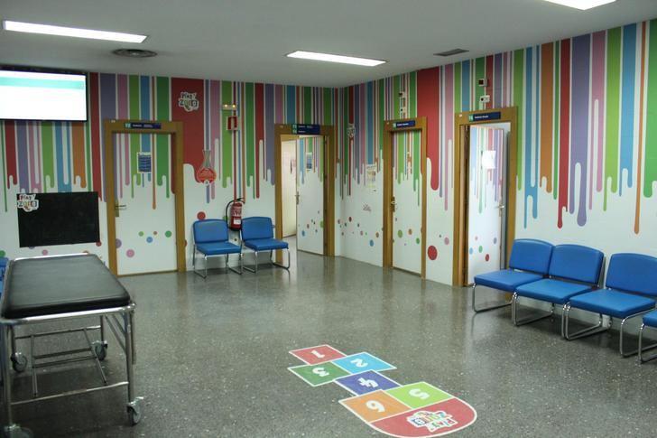 El Hospital de Albacete traslada la atención de las urgencias pediátricas hospitalarias al área de consultas externas