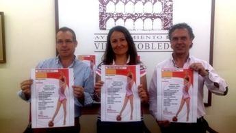 Termina en Villarrobledo la liguilla de Gimnasia Rítmica Ros con 10 escuelas de Madrid y Castilla-La Mancha