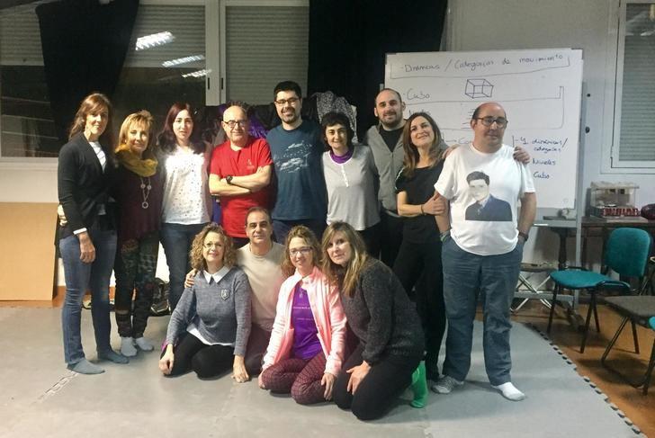 La Universidad Popular de Albacete desarrolla un grupo de teatro-danza inclusiva