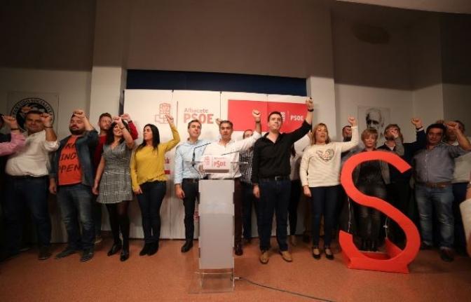Las candidaturas a las primarias del PSOE de Albacete agradecen los apoyos