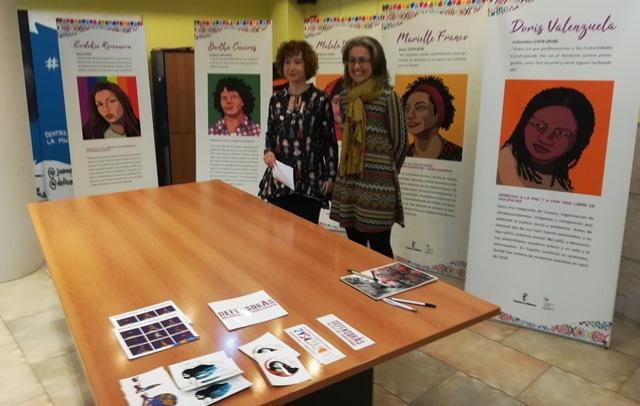 El Centro de la Mujer homenajea con una exposición a las mujeres que han sufrido por defender los derechos humanos en todo el mundo