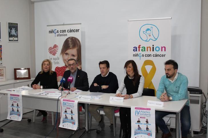 Presentado el IV Pilates Solidario a beneficio de Afanion
