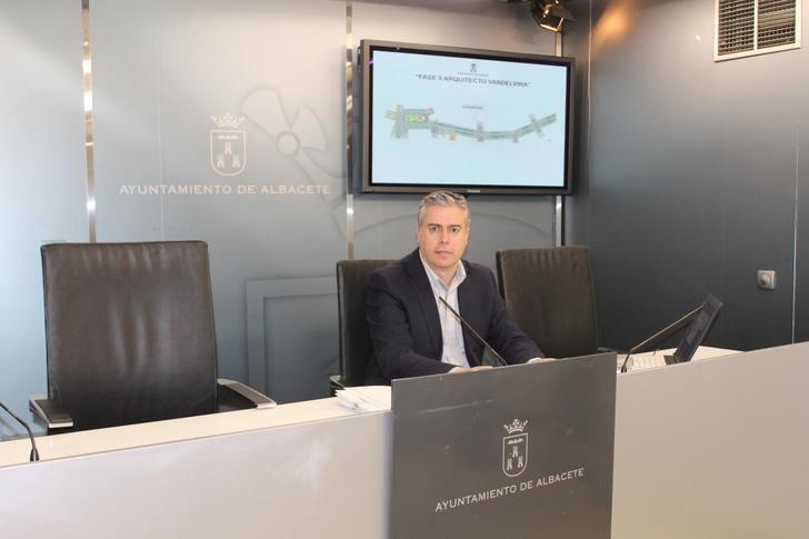 Comienza la segunda fase de remodelación de la calle Arquitecto Vandelvira y de otras ocho calles de la ciudad
