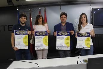 """El Ayuntamiento de Albacete apoya las """"I Jornadas Multideporte Inclusivo"""" para la práctica de deportes adaptados"""