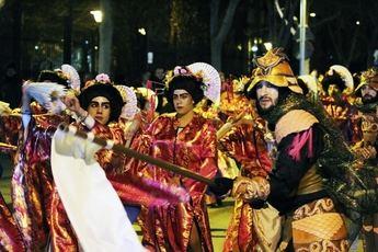 Los Trapisondas, primer premio del carnaval 2018 de La Roda