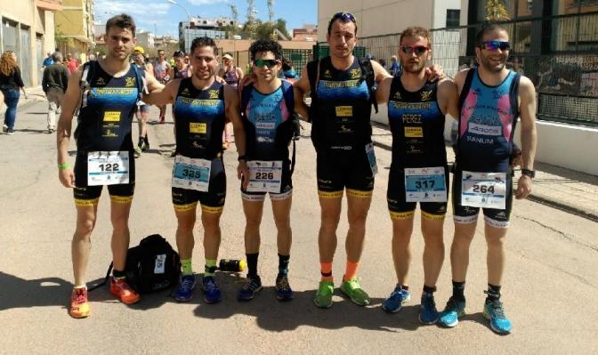 Buen papel de los duatletas del CD Casman Triatlón Albacete en el Campeonato de España de duatlón