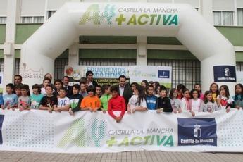 Martín destaca el éxito de participación de los centros educativos en el programa 'Escuela+Activa'