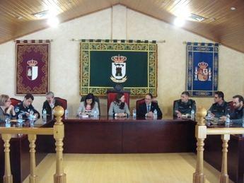 Pozuelo preside en La Gineta la Junta Local de Seguridad