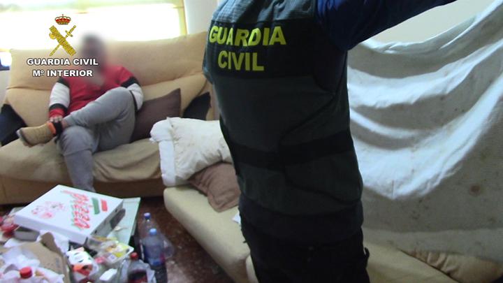 La Guardia Civil detiene en Albacete y otra provincias a a 14 miembros de una organización delictiva dedicada a la extorsión