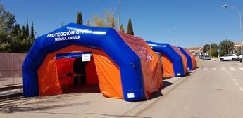 Castilla-La Mancha destina 450.000 euros para ayudas de uniformes y medios materiales de Protección Civil