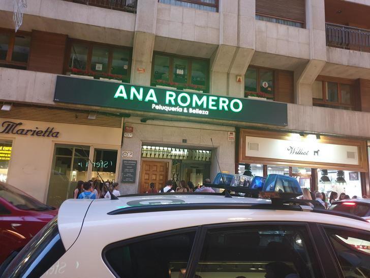 Un suceso en la calle Ancha de Albacete se saldó con un hombre trasladado de urgencia al hospital tras una detonación