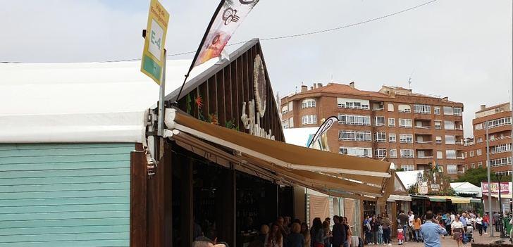 Carpas de la Feria de Albacete 2019: Ciudad sin ley