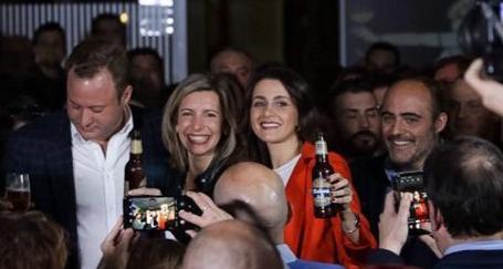 Inés Arrimadas, en Albacete, anima a votar el próximo 10N para vencer al bipartidismo