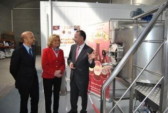 Inaugurada la fábrica de Cervezas Artesanas Quijota, situada en Campollano