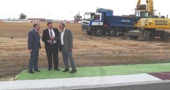 La obras de remodelación del Circuito de Albacete están en marcha