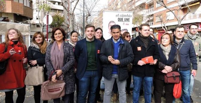 González Ramos (PSOE Albacete) recuerda, tras el debate, que la única alternativa a Rajoy es Pedro Sanchez