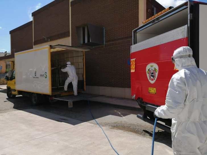 El Servicio Contra Incendios de Albacete concluye los trabajos de desinfección con 1.343 actuaciones