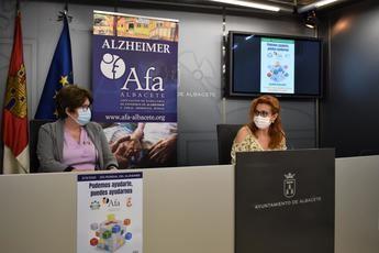 El Ayuntamiento de Albacete apoya a AFA para sensibilizar a la sociedad sobre el alzheimer