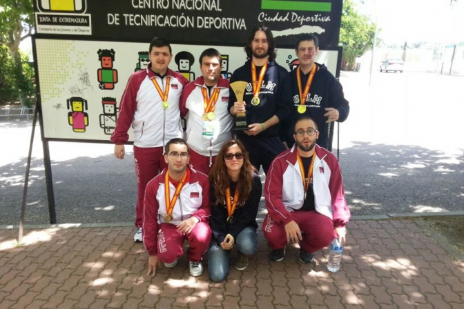 El equipo de ajedrez de la UCLM se proclama campeón de España