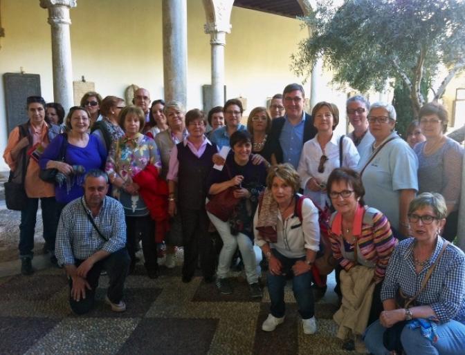 """El grupo de rodenses visitó la exposición de """"El Griego de Toledo"""""""