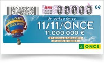 El sorteo del 11 del 11 de la ONCE deja premios en Albacete y otros puntos de la C-LM
