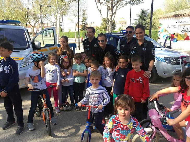 La Roda celebra la II edición de las jornadas de Educación Vial para todas las edades