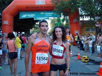 Francisco Núñez y María Ángeles Magán ganaron en Cenizate con nuevo récord femenino (galería de fotos)
