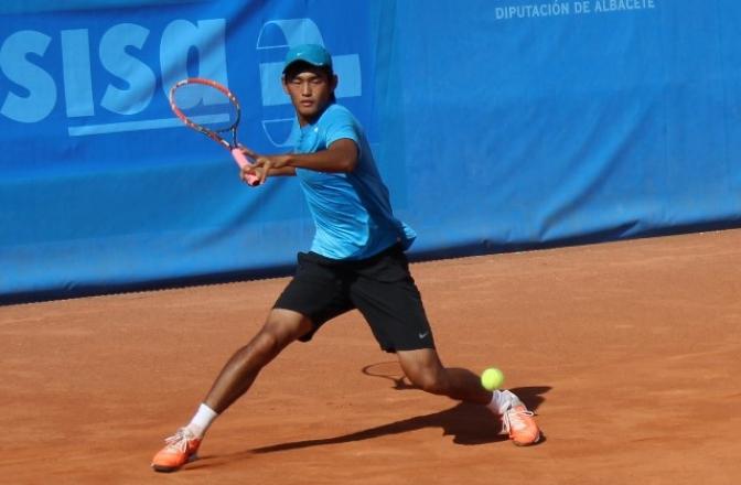 Liu Siyu, Esquerdo, Quino Muñoz y Agustín Boje, jugarán las semifinales del Ciudad de Albacete de tenis