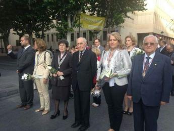 Procesión y ofrenda a la Virgen de los Llanos por las calles de Albacete