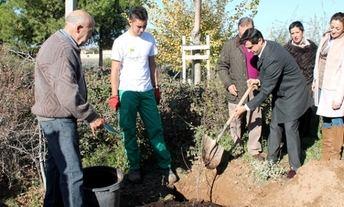 'Un árbol por el Parkinson', campaña de la Federación Española de Parkinson a la que se suma la asociación de Albacete