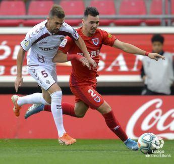El Albacete no pudo sumar en su visita a Soria y cayo ante un Numancia en alza (1-0)